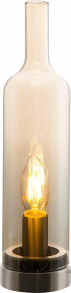 Nino Tischleuchte Bottle Amber
