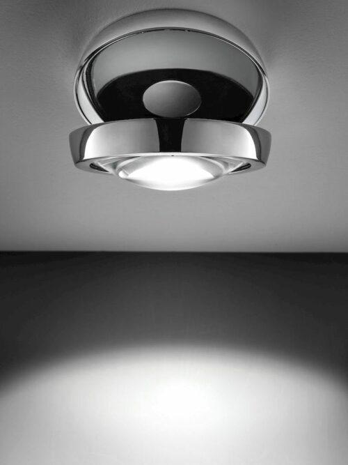 Studio Italia Design Deckenleuchte Nautilus Chrom