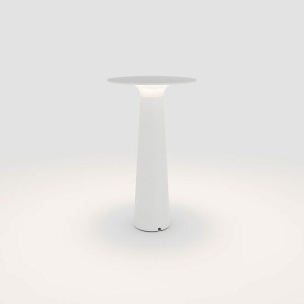 IP44.de Akku-Tischleuchte Lix Pearl White