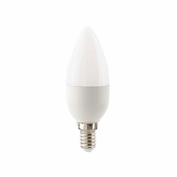 Sigor Ecolux LED-Kerze E14 7,5 W 2700 K Opal matt