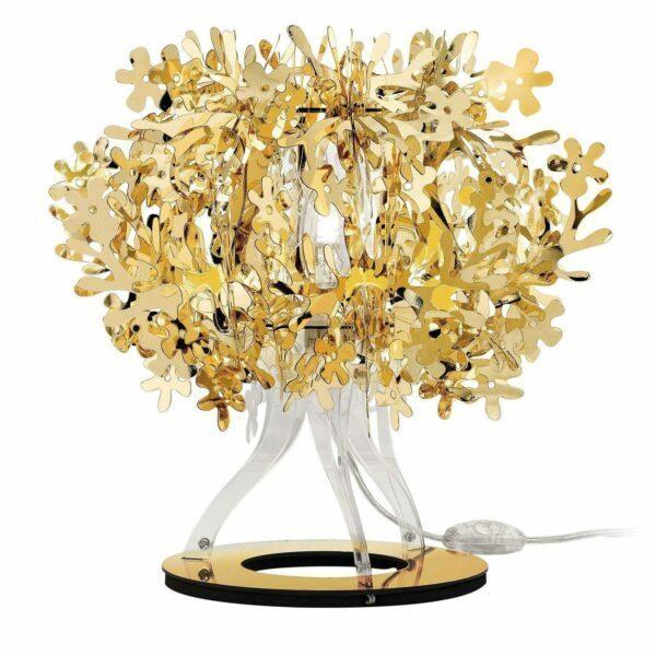 Slamp Tischleuchte Fiorellina Gold