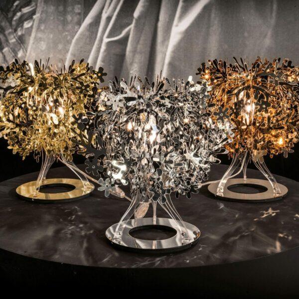 Slamp Tischleuchte Fiorellina Gold, Silber, Kupfer