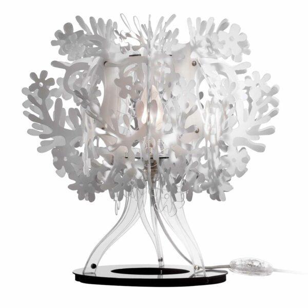 Slamp Tischleuchte Fiorellina Weiß