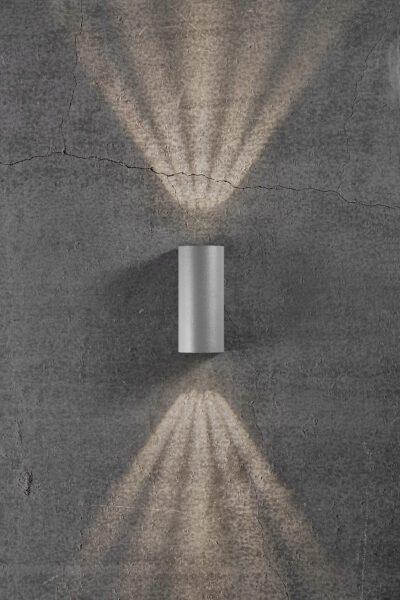 Nordlux Wandaußenleuchte Asbol Grau Lichtwirkung