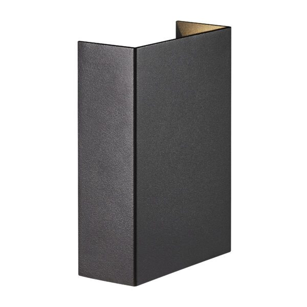 Nordlux Wandaußenleuchte Fold 10 Schwarz