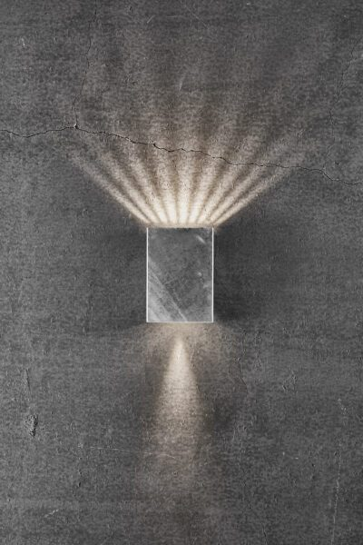 Nordlux Wandaußenleuchte Fold 10 verzinkt Lichtwirkung