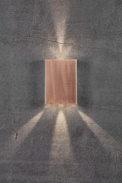 Nordlux Wandaußenleuchte Fold 15 Kupfer Lichtwirkung