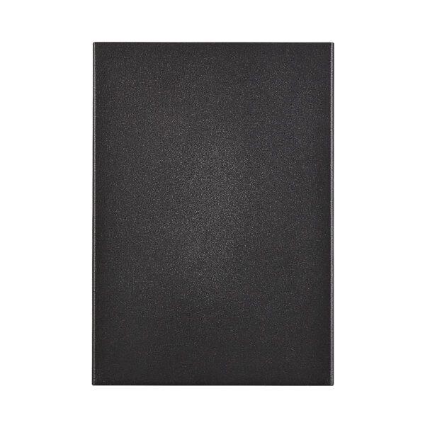 Nordlux Wandaußenleuchte Fold 15 Schwarz Frontansicht