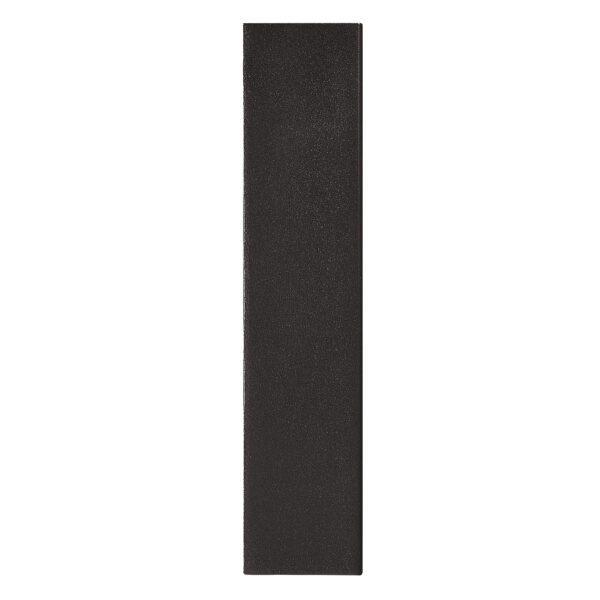 Nordlux Wandaußenleuchte Fold 15 Schwarz Seitenansicht