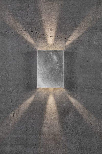 Nordlux Wandaußenleuchte Fold 15 Zink Lichtwirkung