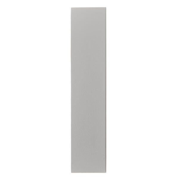 Nordlux Wandaußenleuchte Fold 15 Weiß Seitenansicht