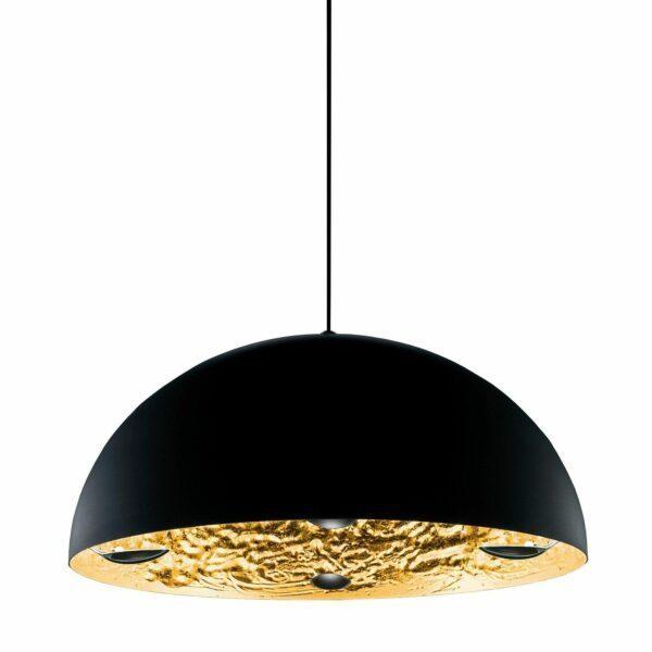Catellani & Smith Pendelleuchte Stchu-Moon 02 Gold Ø 80/100 cm
