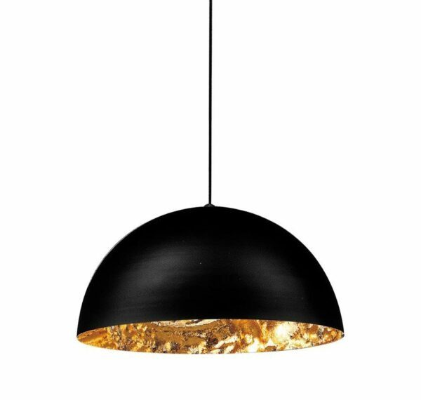 Catellani & Smith Pendelleuchte Stchu-Moon 02 Halogen Gold 40 cm