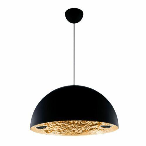 Catellani & Smith Pendelleuchte Stchu-Moon 02 Gold Ø 40/60 cm