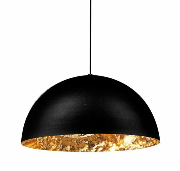 Catellani & Smith Pendelleuchte Stchu-Moon 02 Halogen Gold 60 cm