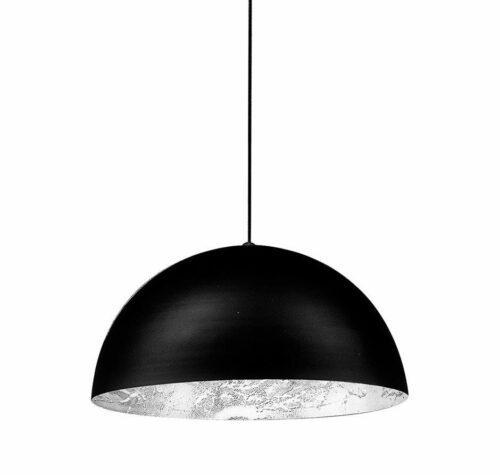 Catellani & Smith Pendelleuchte Stchu-Moon 02 Halogen Silber 40 cm