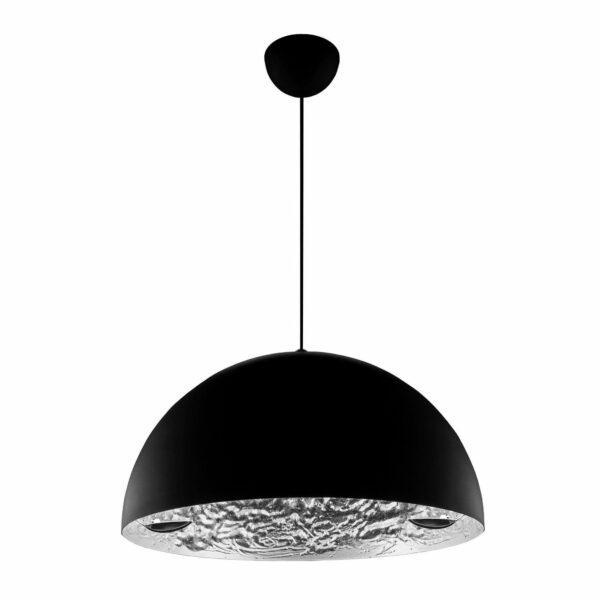 Catellani & Smith Pendelleuchte Stchu-Moon 02 Silber Ø 40/60 cm