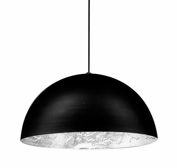 Catellani & Smith Pendelleuchte Stchu-Moon 02 Halogen Silber 80 cm