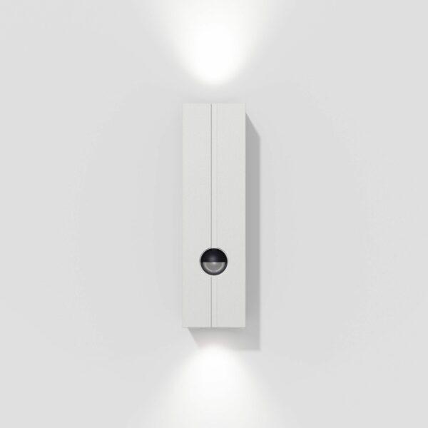 IP44.de Wandaußenleuchte Cut Control Pure White