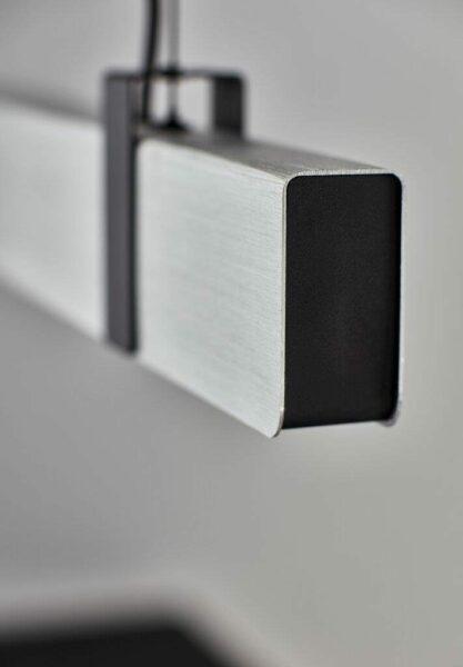 Nordlux Pendelleuchte Lilt gebürsteter Stahl Detail Leuchtenschirm