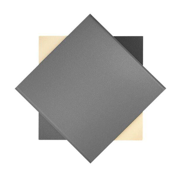 Nordlux Wandaußenleuchte Turn Grau Frontansicht