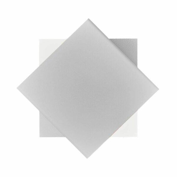 Nordlux Wandaußenleuchte Turn Weiß Frontansicht