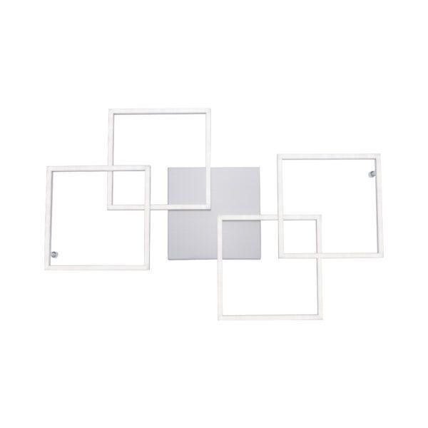 Paul Neuhaus Deckenleuchte Inigo, Ansicht von unten