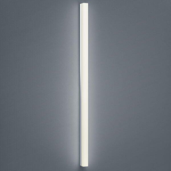 Helestra Wand- und Deckenleuchte Lado Chrom 120 cm