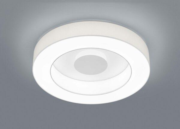 Helestra Deckenleuchte Lomo Ø 65 cm Weiß