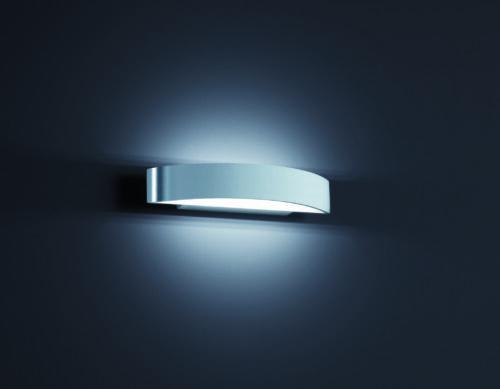 Helestra Wandleuchte Yona Aluminium poliert klein