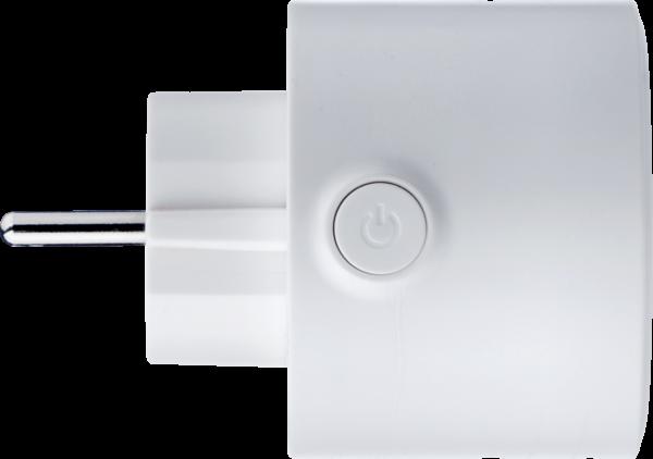 Globo Steckeradapter Weiß Seitenansicht
