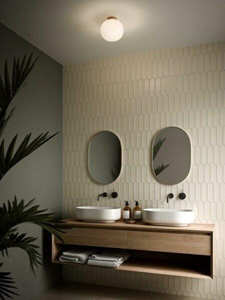 Nordlux Wand- und Deckenleuchte Alton Opalglas Milieu