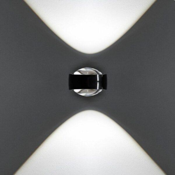 Occhio Wandleuchte Sento D verticale up Lichtwirkung
