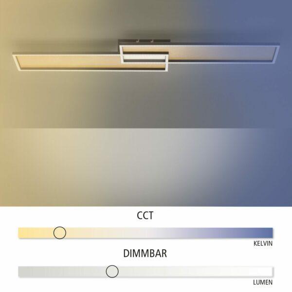 Paul Neuhaus Deckenleuchte Amara CCT Farbtemperaturwechsler