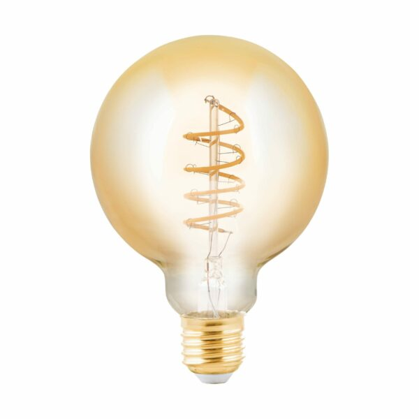 Eglo LED-Leuchtmittel E27, 4 W, 245lm, G95, Amber
