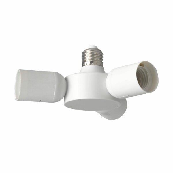 Eglo Rueda 3-Fach E27-Fassung Weiß