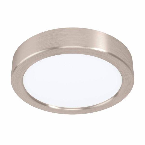 Eglo Deckenleuchte Fueva 5 Ø 16 cm Nickel matt