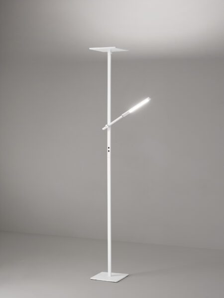 Fabas Luce Stehleuchte Ideal Weiß Milieu