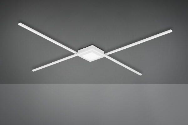 Trio Deckenleuchte Oxford Weiß matt