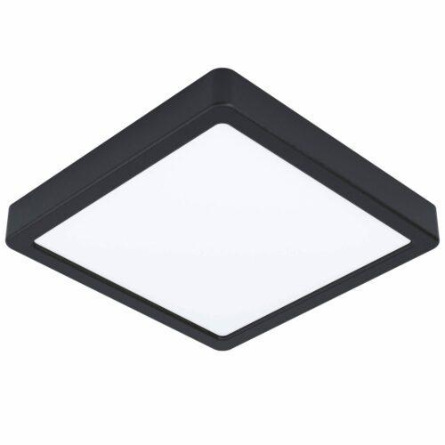 Eglo Deckenleuchte Fueva 5 quadratisch 21 x 21 cm Schwarz