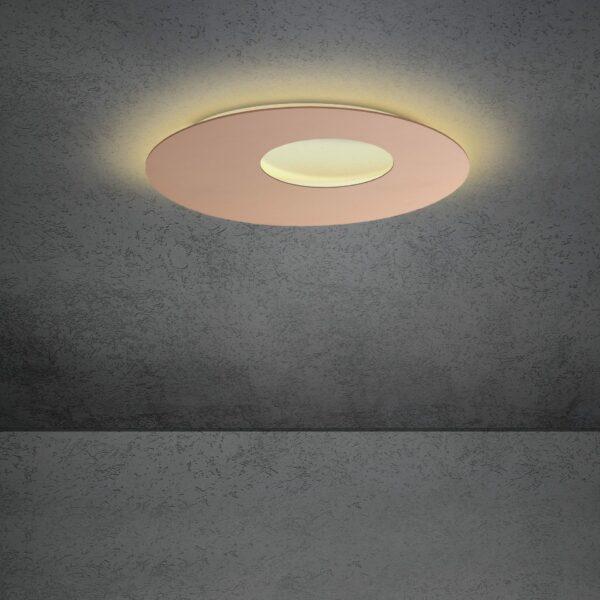Escale Blade open Wand- und Deckenleuchte Rose 59cm