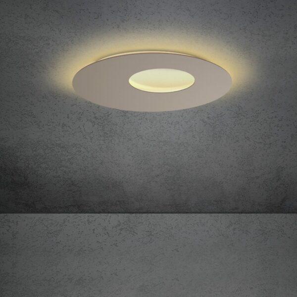 Escale Blade open Wand- und Deckenleuchte Taupe 59cm
