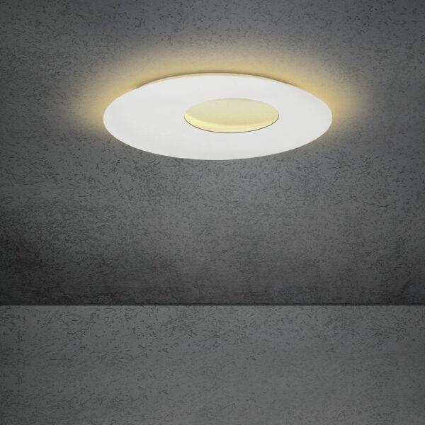 Escale Blade open Wand- und Deckenleuchte Weiß 59cm