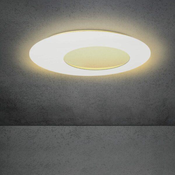 Escale Blade open Wand- und Deckenleuchte Weiß 79cm