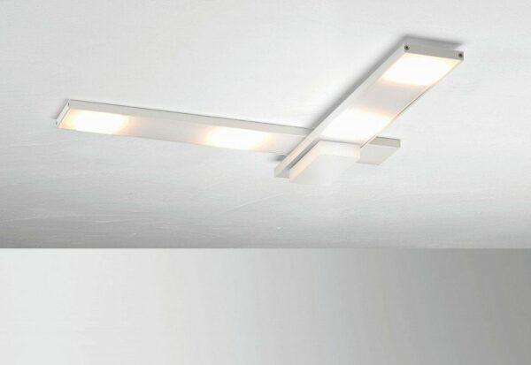 Bopp Deckenleuchte Slight HV-LED 4-flammig Weiß gebogen