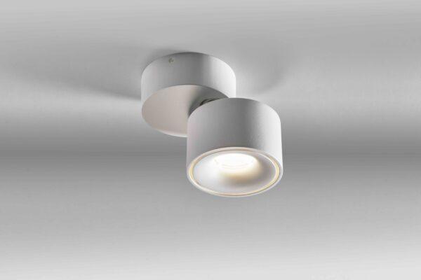 Lupia Licht Deckenleuchte Bloc SN Weiß