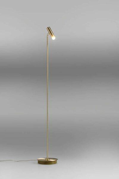 Lupia Licht Stehleuchte Crane Messing poliert/matt