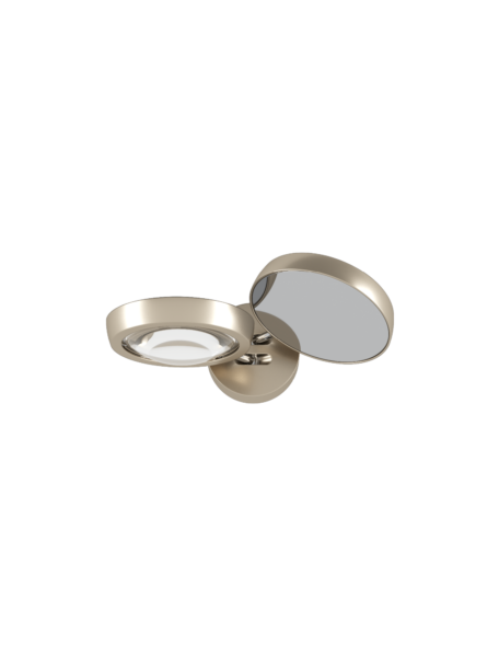 Studio Italia Design/Lodes Wandleuchte Nautilus Champagner/Champagner