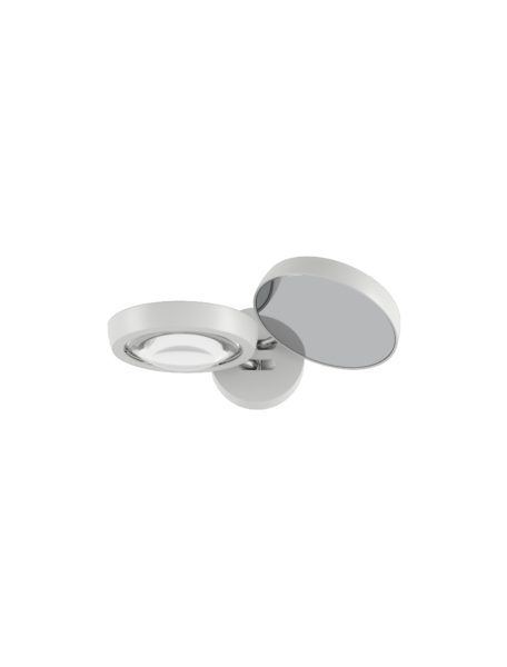 Studio Italia Design/Lodes Wandleuchte Nautilus Weiß matt/Weiß matt