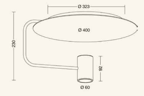 Holtkötter Deckenleuchte Disc - Innenleuchten